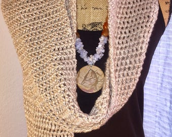 Handmade Crochet Long Scarf