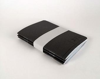 Isometric Grid - XYZ Pocket Notebook (Set of 3)