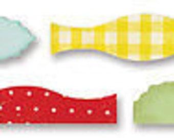 Sizzix Sizzlits Decorative Strip Die 12.625'X2.375'-Card Edges #2