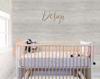 Gender Neutral Baby Nursery Wall Mock-Up / Stock Photo / Art Stock Image / Styled Stock / Interior Room / Shop Display