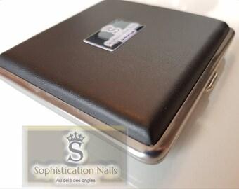 Box color scheme for gel nail art paint