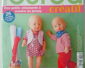 "Magazine sewing BURDA creative ""I dress my babies."