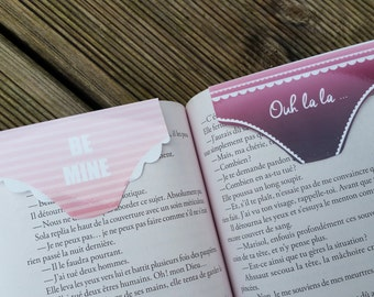 Valentine panties / / 1 magnetic bookmark