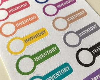 A57 - Inventory - Planner Stickers