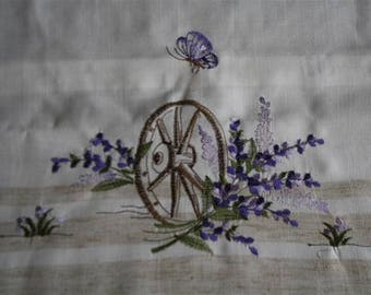 Lavender pillow cover