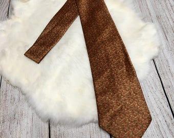 Vtg 60s Cutlon by Cutter Cravat Tie