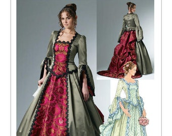 Cosplay Mc Call's M6097 Victorian costume sewing pattern
