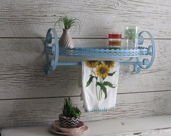 urban farmhouse - mid century - vintage  - farmhouse - cottage - Metal Shelf