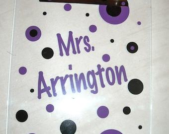 Personalized Clip Board