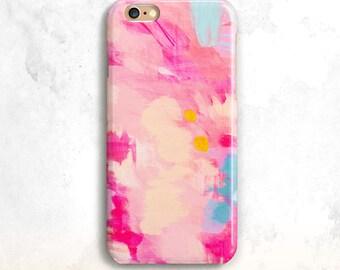 iPhone X Case, iPhone 8 Case, iPhone 7 Case, Pink Paint iPhone 6S Case, iPhone 8 Plus, iPhone 7, Pink iPhone 6 Case,iPhone 5,iPhone 7 Plus