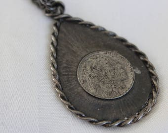 Sarah Coventry Indian Head Pendant