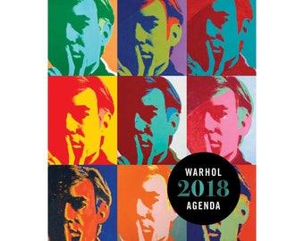 Andy Warhol 2018 Engagement Calendar, Planner