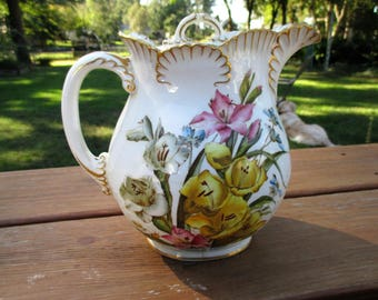 Stone and Sons Crescent China Floral Teapot