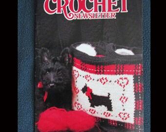 Crochet, Crochet Patterns, How to Crochet, Vintage Annie's Crochet Newsletter No. 48 Nov-Dec 1990