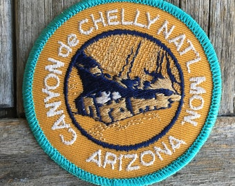 LAST ONE! Canyon de Chelly National Monument Arizona Vintage Travel Patch
