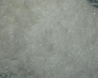 bulk fake snow / sparkle snow 4 litres by volume large bag for crafting and decoration discounted bulk