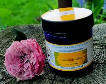 Calendula Salve 1.7 oz Blue Jar