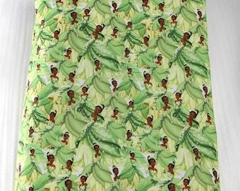 princess tiana fabric