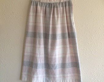 80s does 60s Plaid School Girl Skirt SX