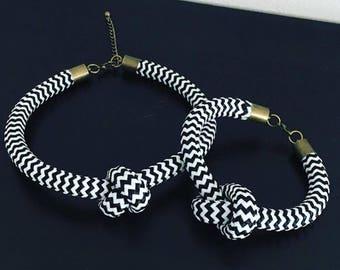 Modern Nautical, knot Choker.