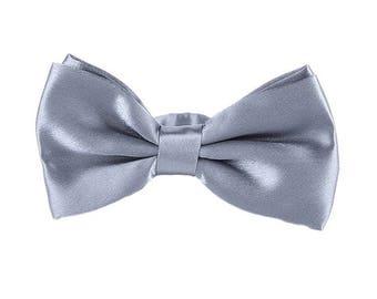 Classic Bow Tie- Silver