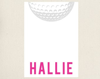 Golf Note Cards