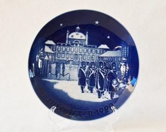 Vintage Bing And Grondahl Christmas Plate 1990 Changing of the Guards