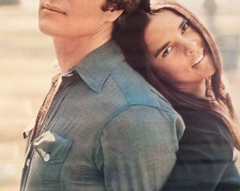 Vintage 1970 LOVE STORY Original Movie Poster-Paramount Pictures