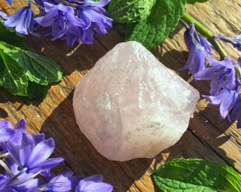 Raw Rose Quartz Chunk