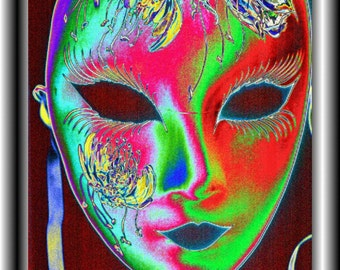LADY MASK Limited Edition Giclee