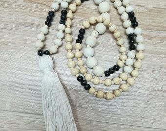 Long bohemian necklace