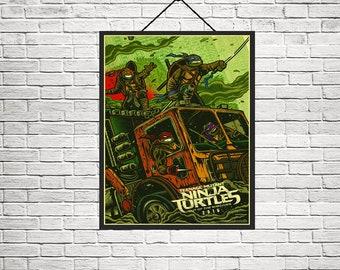 Teenage Mutant Ninja Turtles Out of the Shadows Poster