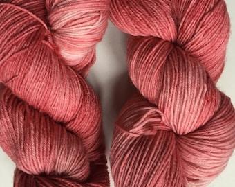 "Seren sock in ""coral"" colourway"