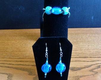 Aqua Jewelry Set