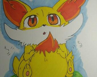 Pokemon Fenniken drawing