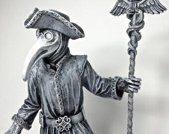 Venetian Plague Doctor Statue