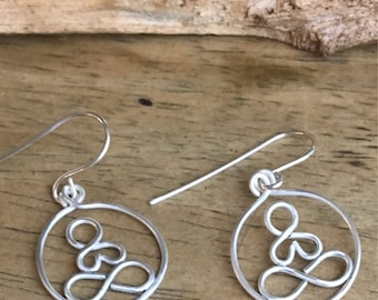 Yoga Earrings Lightweight Hoops