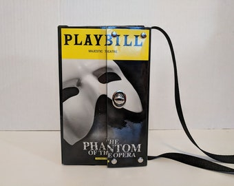 Phantom of the Opera Playbill recycled reclaimed Handbag Purse