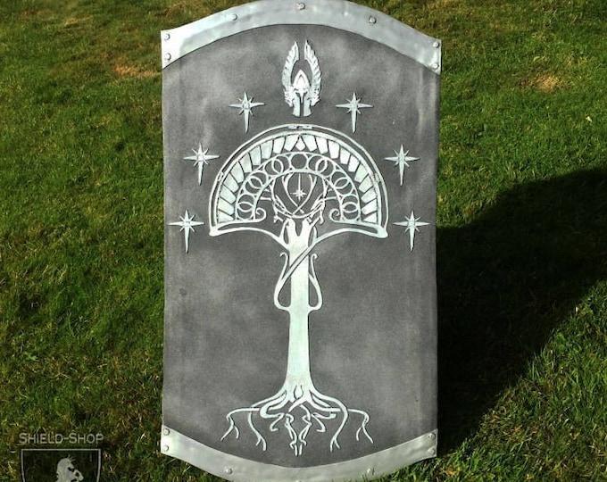 Medieval Shield for Combat Games // DOWN PAYMENT on Custom Fan Art // Belegarth, Dagorhir, Amtgard