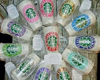 Teacher Appreciation Gift Starbucks Coffee Cup, Personalized Tumbler • Mug • Tea Cup Genuine Starbucks [Teacher gift, PTA Teacher gift idea]