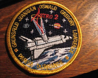 NASA STS-67 Patch - 1995 USA Astro 2 Spacelab Space Shuttle Rocket Jacket Patch