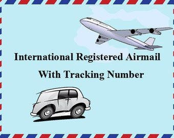 Registered airmail