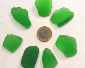 Bulk Sea Glass Green Bulk Sea Glass Large Sea Glass