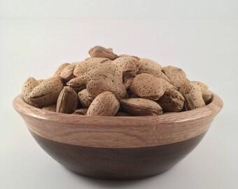 Black Walnut/Oak Bowl Dish Container