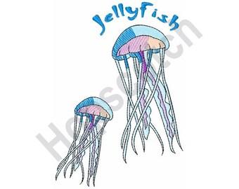 Jellyfish - Machine Embroidery Design
