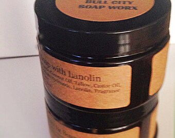Luxury Shave Soap with Lanolin