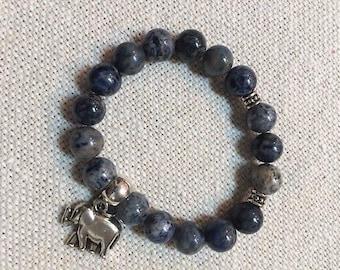 Beautiful Blue Sodalite Bracelet