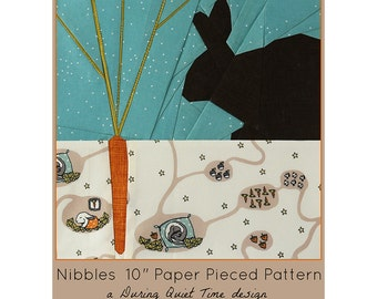 Nibbles Paper Pieced Pattern