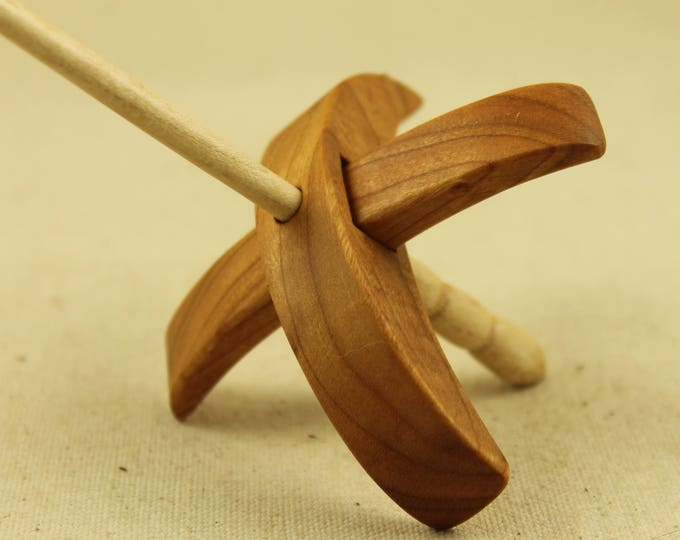 Featured listing image: Cherry Reekalf Turkish Drop Spindle