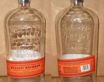 Straight Bourbon Whiskey 750ml - 1 Liter Empty Recycled Used Liquor Bottles